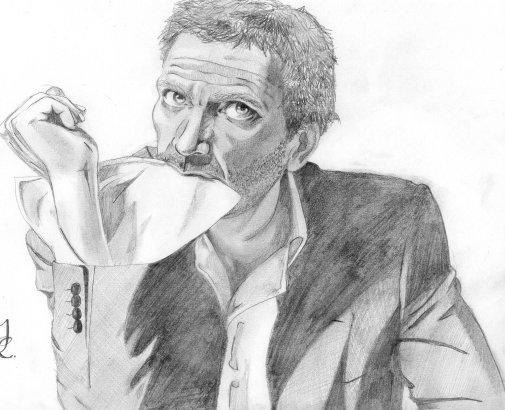 Hugh Laurie par BengtIda